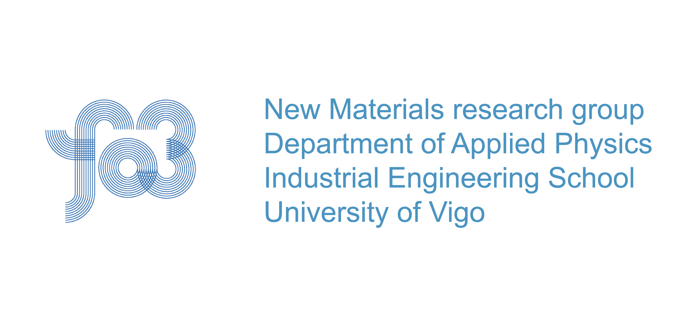 New Materials research group department of applied physics industrial engineering school university of vigo logo